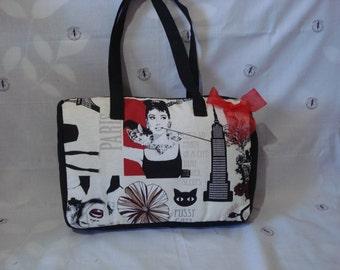 Audrey Hepburn bowling bag