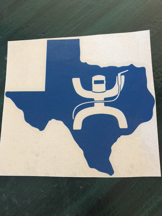 Texas Welding Welder Decal Weld Sticker Pipeline Welding Vinyl