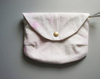Small Envelope Clutch - Strawberry