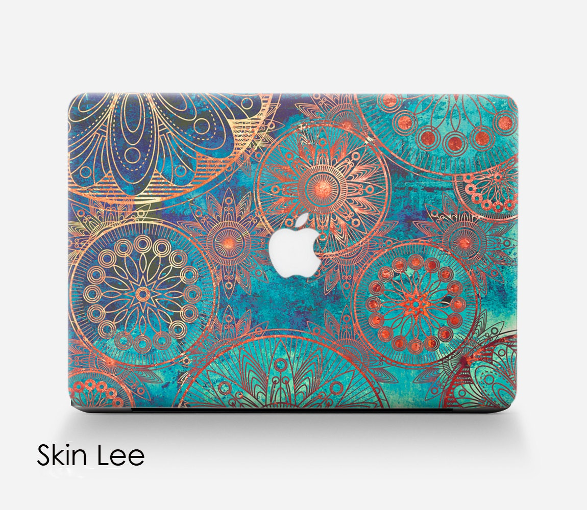 bohemian macbook decal macbook stickers macbook skin macbook. Black Bedroom Furniture Sets. Home Design Ideas