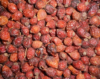 8oz Whole Unscented Rose Hips