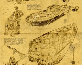 Star Wars Blueprint - Tatooine Edition