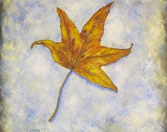 Solitary Leaf
