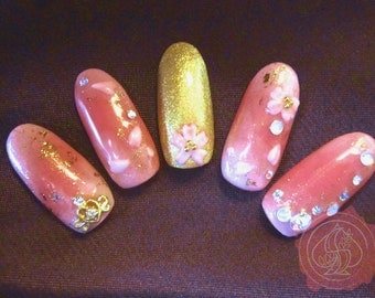 Cherry Blossom 3D Sakura Nail