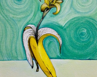 "Original Acrylic Painting ""Blossom"""
