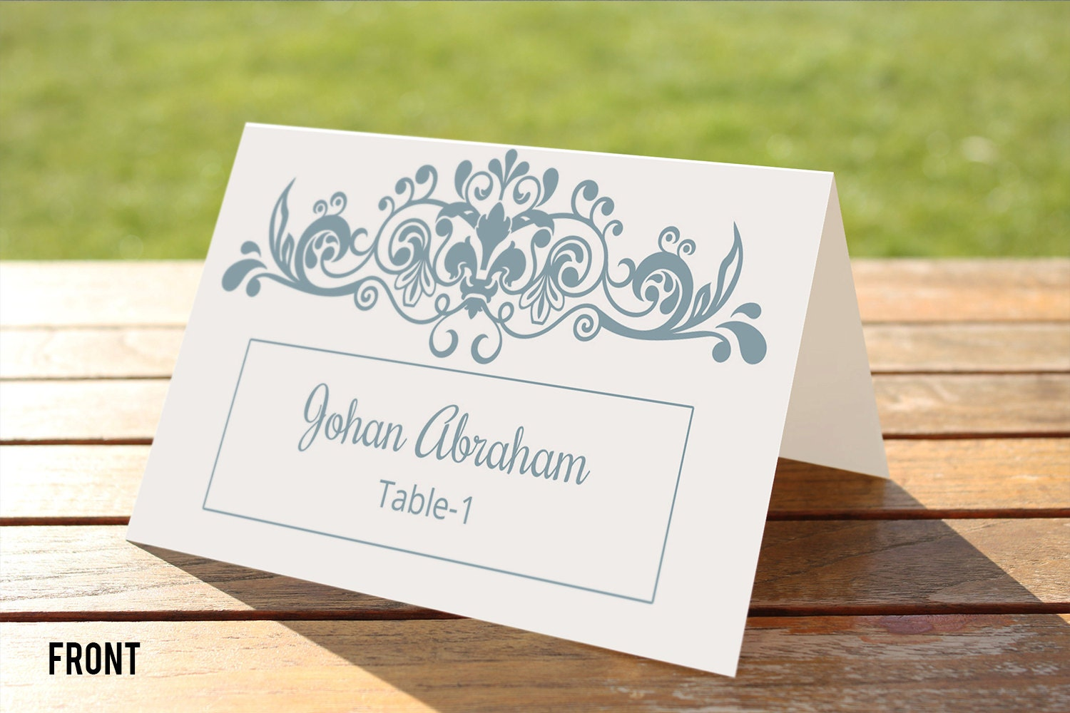wedding place cards diy template - 28 images - diy printable wedding ...