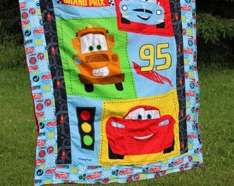 Cars Blanket, Cars Quilt, Boy Quilt
