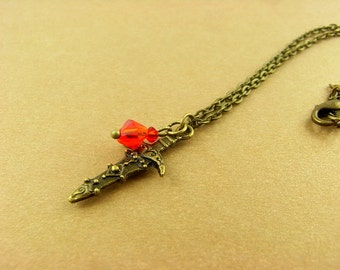 "Necklace - ""Ruby"""