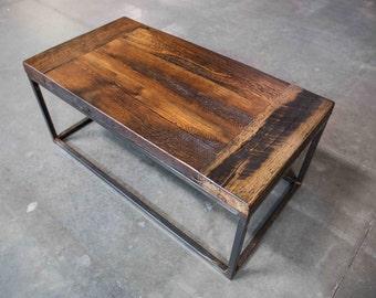 Reclaimed Oak Coffee Table