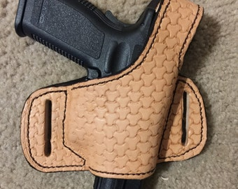 Leather Gun Holster.