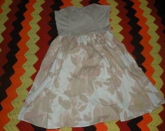Strapless wire bust Dress