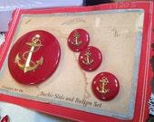 Vintage Anchor Buckle & B...