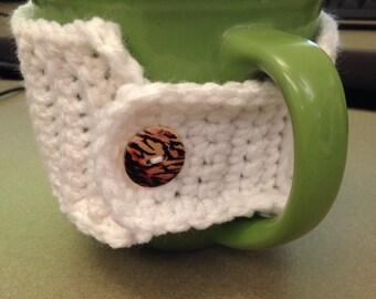 Crochet cup cozy