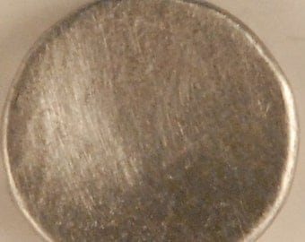 "BU-103 Concave pewter button 1/2"""