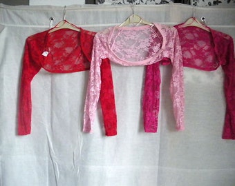 Bolero type shrug Lace one size (small)  buy 2 for ten pounds