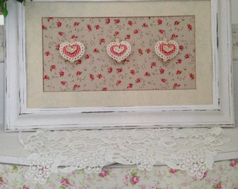 Shabby Chic Love Heart Picture/Picture Frame