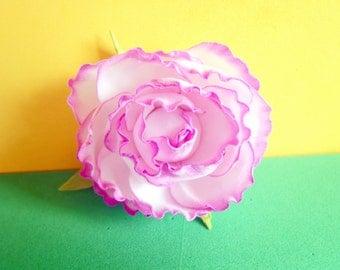 Imaginary flower made of revelyur Handwork flower made of revelyur Handwork gift Flower made of revelyur under the order Handmade ornament