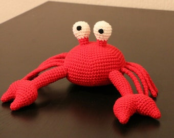 Amigurumis, plushie, stuffed animal, crab