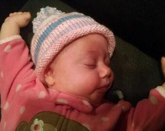 Cozy Baby Hat - Custom Colors