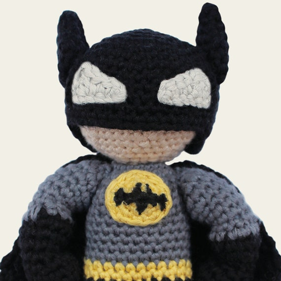 Batman DC Comics. Amigurumi Pattern PDF DIY Crochet