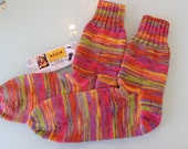knitted socks / Gr. 36/37 - new and worm