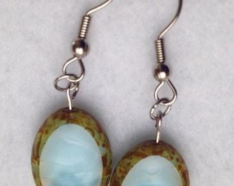 Beautiful Blue Stone earrings