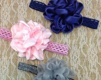 Set of 3 Fabric Headbands
