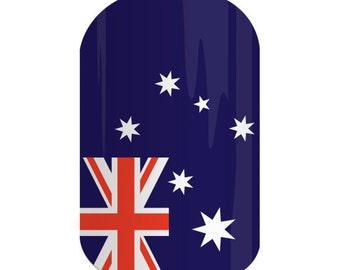 Nail Wrap - Australian Fair - Glossy Finish