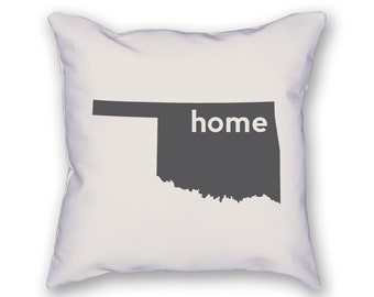 Oklahoma Home Pillow
