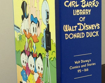 Carl Barks Library of Walt Disney's Donald Duck Comics and Stories 95-166 Another Rainbow VIII, Volume 8 Vintage Memorabilia Christmas Gift
