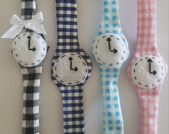 Shows fabric baby gingham