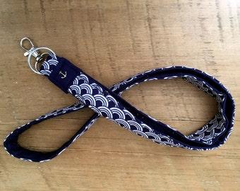 Fabric Lanyard ID Key Chain