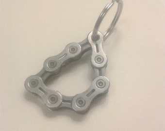 Bicycle chain key ring - shimano light
