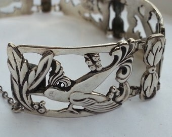 Sterling Bird of Paradise Bracelet by Norseland Coro