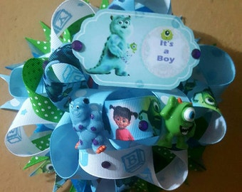 Great Monsters INC Baby Shower Corsage