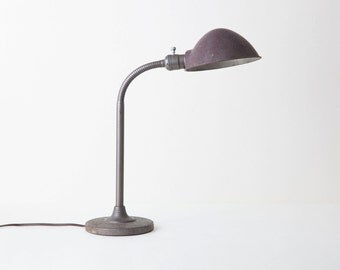 Vintage Industrial Gooseneck Lamp