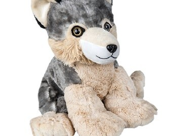 Build-a-Stuffed Animal Wolf Kit, Perfect for Birthdays Parties or Holidays