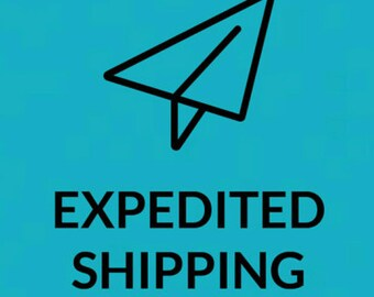 Expedited Shipping 6-9 Business Days After Return To Sender