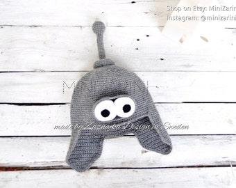 Crochet baby hat | Crochet bender hat | Baby boy hat | Baby girl hat | Baby animal hat | Infant bear beanie