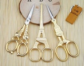 Vintage Copper/Gold Eiffel Tower Scissors