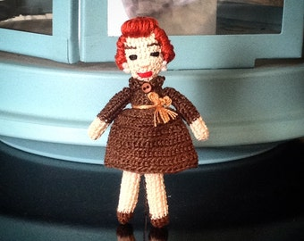 Tiny Lucille Ball Doll.