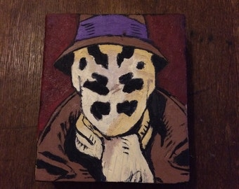 Rorschach, painting (oil on wood)