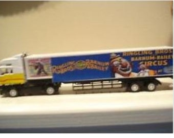 1:50 Scale Ringling Brothers Circus Truck