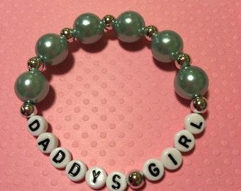 Daddy's girl bracelet,girls bracelet