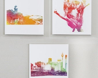 Beautiful Australia - 3pc Wall Canvas Set