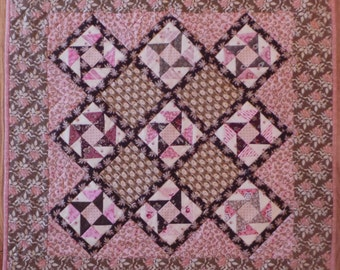 Pink and Brown Friendship Stars