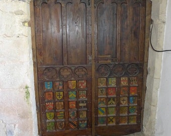 Medieval style hand made internal doors - bespoke