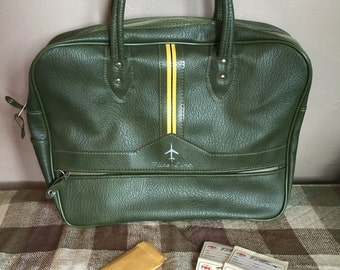 Vintage Fliteline carry on/overnight bag