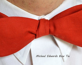 Mens Red Bow Tie, Self-Tie Bow Tie, Mens Red Bowtie, Red Bow Tie, Mens Bowtie, Mens Bow Tie, Mens Formal Wear, Groomsmen Tie, Prom, Wedding