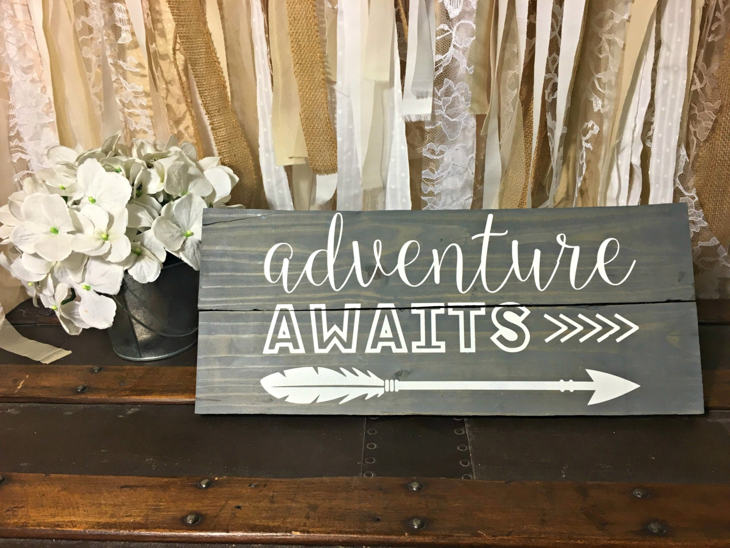 Adventure Awaits Adventure Awaits Sign Adventure Sign
